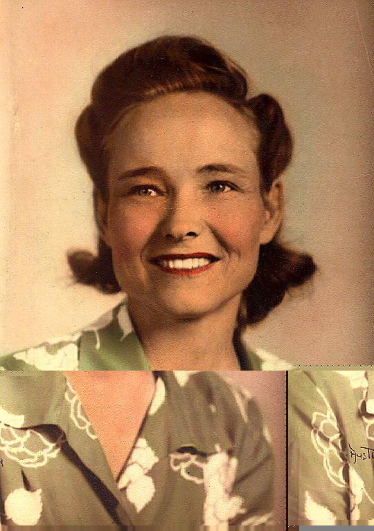 Martha Lea Riddle -1946